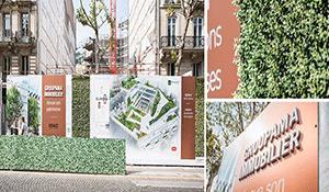 Palissade De Chantier Immobilier