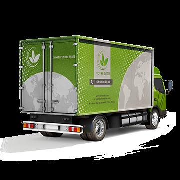 Habillage sur camions