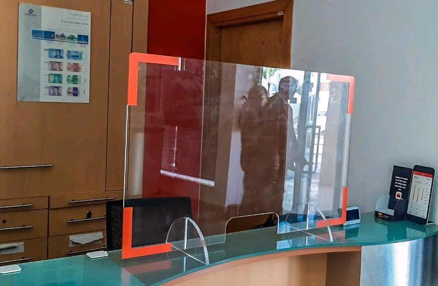 Protéger Vos Clients Et Votre Personnel Contre Le Covid 19 Avec Des écrans De Séparations Plexiglas à Marrakech .